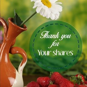 Accessories - Thank you for your shares